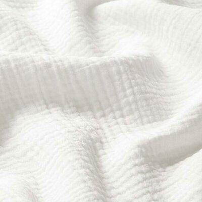 Muselina Uni Organica GOTS - Off White