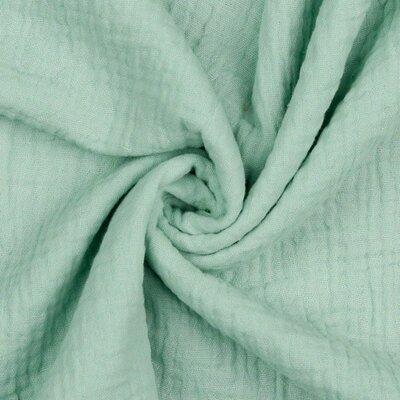 Muselina Organica GOTS - Mint