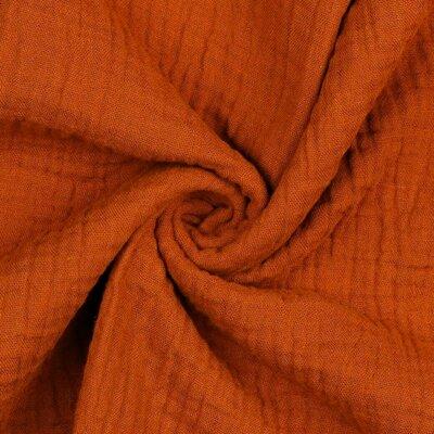Muselina Uni - Terracotta