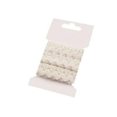 Panglica din dantela - card 3m Cream