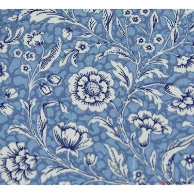 Poplin Floral Whirl Delph