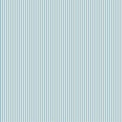Poplin imprimat - Petit Stripe Light Blue