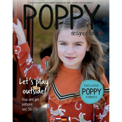 Revista tipare copii - Poppy Magazine nr 15