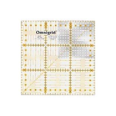 Rigla patchwork si quilting 15x15cm -  Cod 611306