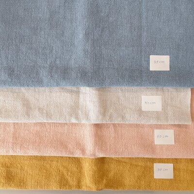 Scraps Set - Linen Stonewashed - 1.6 m