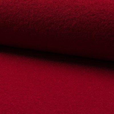 Tesatura din lana fiarta - Dark Red