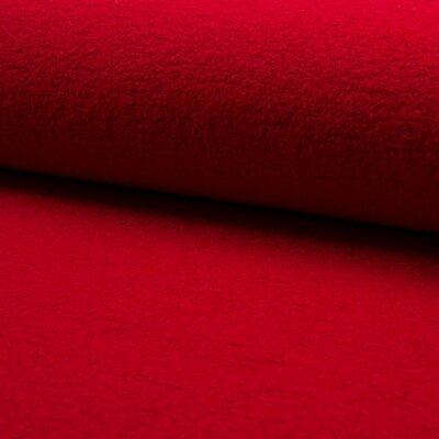 Tesatura din lana fiarta si vascoza - Red