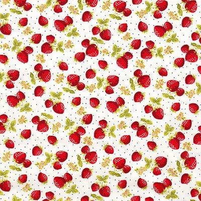Poplin - Yummy Berries Ivory