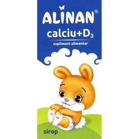 Alinan Calciu + D3 sirop 150 ml
