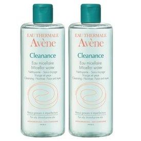 Avene Cleanance apa micelara 400ml+400ml-70%