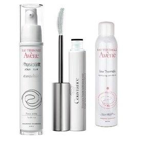 Avene PhysioLift Emulsie 30ml+Apa Termala 50ml+Mascara 3ml