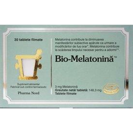 Bio-Melatonină 30 tablete filmate