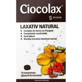Ciocolax - Laxativ natural 12 comprimate