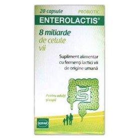 Enterolactis 8 miliarde celule vii 20 capsule