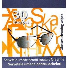 Şerveţele umede pentru ochelari x 30