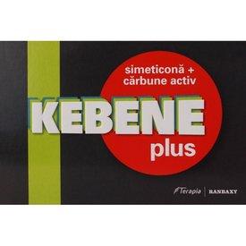 Kebene Plus, Simeticonă + Cărbune activ, comprimate 20 cps