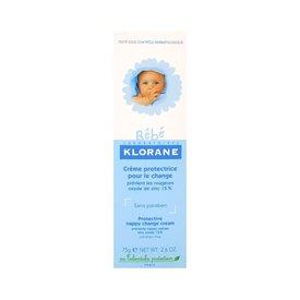 Klorane Bebe Cremă protectoare eritem fesier 75 gr