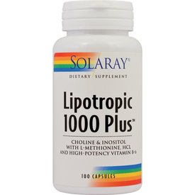 Lipotropic 1000 Plus, 100 capsule