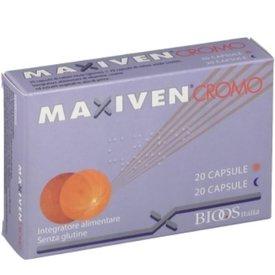 Maxiven Cromo 20capsule de zi + 20capsule de seara