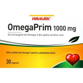 OmegaPrim 1000mg, 30 capsule