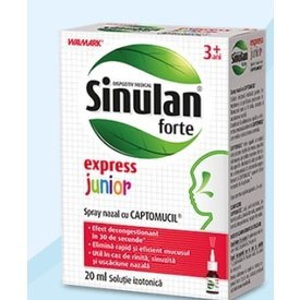 Sinulan forte junior 20ml solutie  izotonica