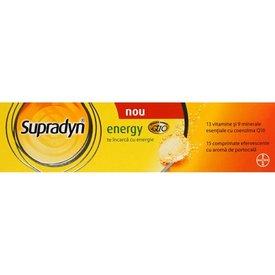Supradyn Energy, 15 comprimate efervescente