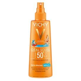 Vichy Ideal Soleil Spray Delicat Copii Extra Sensitive Spf 50+ 200ml