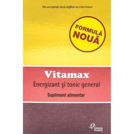 VITAMAX Energizant și tonic general, 15 capsule moi