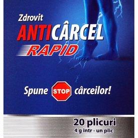 Zdrovit Anticârcel Rapid, 20 plicuri