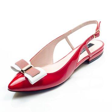 Balerini rosii cu fudita Top