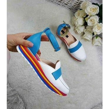 Pantofi casual din piele naturala Eda K