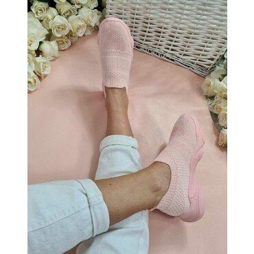 Pantofi dama sport casual roz Poli
