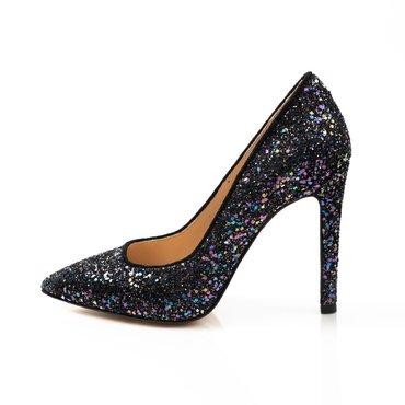 Pantofi de dama din gliter color Trend