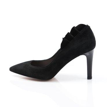 Pantofi de dama piele neagra Sandra