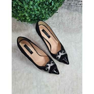 Pantofi negri L102