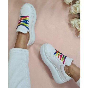 Pantofi sport albi Roxy Color