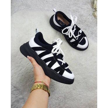 Pantofi sport din piele naturala Sally