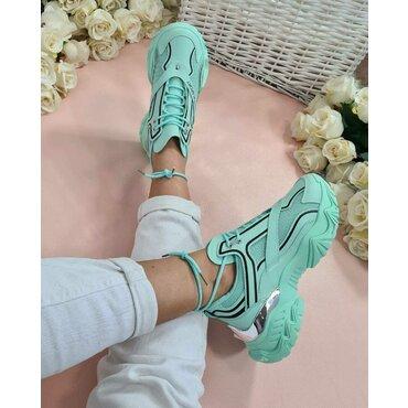 Pantofi verzi dama sport casual Lion