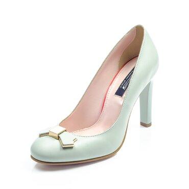 Pantofi verzi de dama Joli cu funda Agnes
