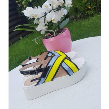 Sandale dama color Fashion