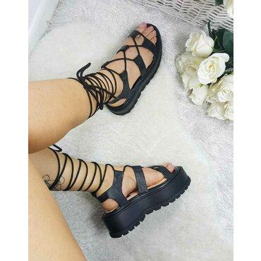 Sandale de dama negre Allyson