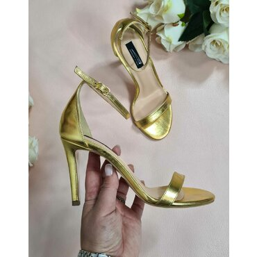 Sandale de ocazie aurii Scarlet
