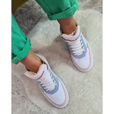 Sneakers din piele naturala Ryo