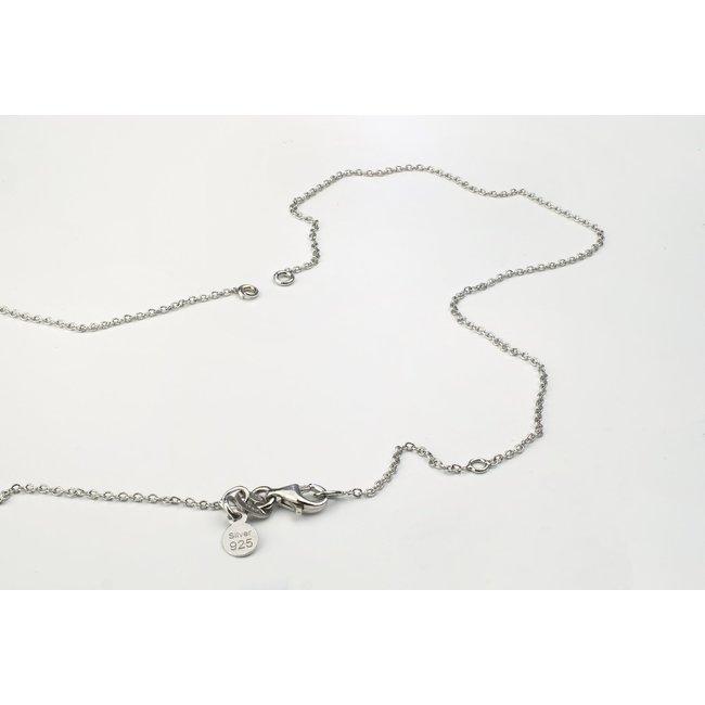 Lantisor supliment cu prindere laterala Argint 925 rodiat