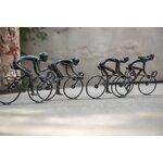 Adrian Decoratiune ciclist mare, Fier, Negru