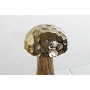 Ahiga Decoratiune ciuperca mica, Metal, Auriu