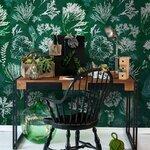 Algae Moss Set 3 role tapet, Netesut, Multicolor