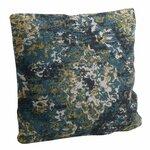 Arabesque Perna decorativa, Textil, Albastru