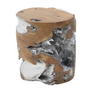 Atlas Taburet, Lemn, Argintiu