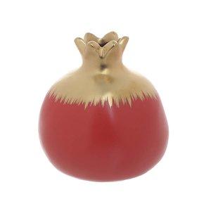 Bame Decoratiune rodie, Ceramica, Rosu